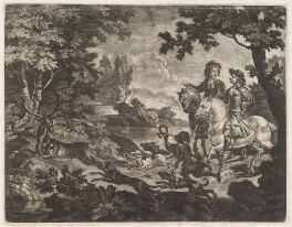 The Stag Hunt, by Robert Robinson, published by  John Smith - NPG D11790