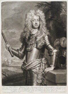 James Butler, 2nd Duke of Ormonde, by and published by John Smith, after  Sir Godfrey Kneller, Bt, 1701 (circa 1700) - NPG D11566 - © National Portrait Gallery, London