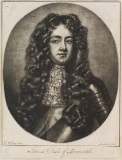James Scott, Duke of Monmouth and Buccleuch, by Robert Williams, after  Willem Wissing, 1686 (1683) - NPG D11908 - © National Portrait Gallery, London