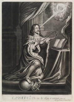 King Charles I, published by John Smith, circa 1683-1729 - NPG  - © National Portrait Gallery, London