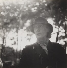 Virginia Woolf, by Barbara Strachey - NPG Ax125376