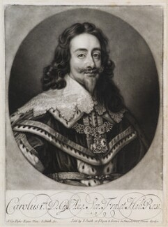 King Charles I, by and published by John Smith, after  Sir Anthony van Dyck, 1718? (1636) - NPG  - © National Portrait Gallery, London