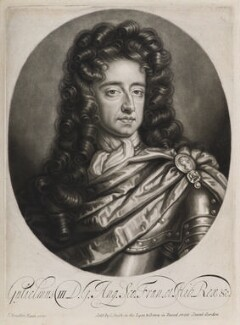 King William III, published by John Smith, after  Sir Godfrey Kneller, Bt - NPG D11922