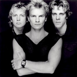 The Police (Andy Summers; Sting; Stewart Copeland), by Terry O'Neill - NPG x125375