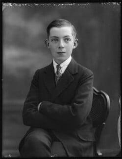 Edward Henry Harold Ward, 7th Viscount Bangor, by Bassano Ltd, 23 July 1920 - NPG x75078 - © National Portrait Gallery, London