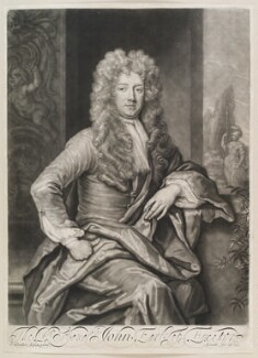 John Cecil, 5th Earl of Exeter, by and published by John Smith, after  Sir Godfrey Kneller, Bt, 1696 (1696) - NPG D11573 - © National Portrait Gallery, London