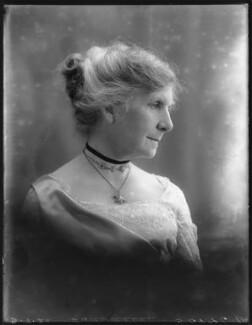Ada Rosalie Elizabeth Allen (née Mason), Lady Brookes, by Bassano Ltd - NPG x75099