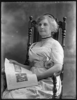 Ada Rosalie Elizabeth Allen (née Mason), Lady Brookes, by Bassano Ltd - NPG x75100