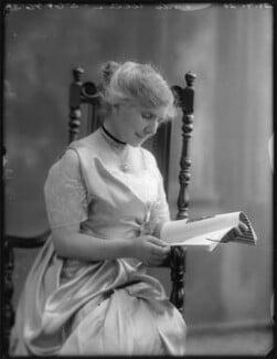 Ada Rosalie Elizabeth Allen (née Mason), Lady Brookes, by Bassano Ltd - NPG x75101