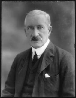 Sir Godfrey Yeatman Lagden, by Bassano Ltd - NPG x75109