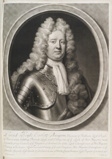 David Boyle, 1st Earl of Glasgow, by John Smith, after  Jonathan Richardson, 1711 - NPG  - © National Portrait Gallery, London