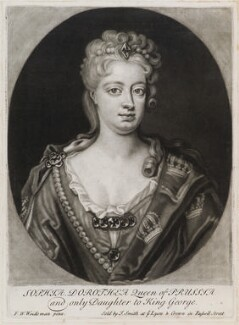 Sophia Dorothea, Queen of Prussia, published by John Smith, after  Friedrich Wilhelm Weidemann - NPG D11932