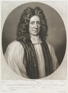 Richard Cumberland, by and published by John Smith, after  Thomas Murray, 1714 (1706) - NPG D11584 - © National Portrait Gallery, London