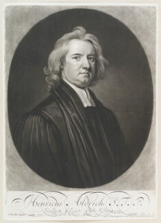 Henry Aldrich, by and published by John Smith, after  Sir Godfrey Kneller, Bt - NPG D11585