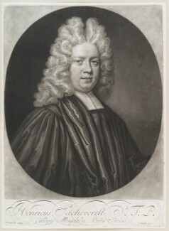 Henry Sacheverell, by John Smith, after  Anthony Russel, 1710 (1710) - NPG D11587 - © National Portrait Gallery, London