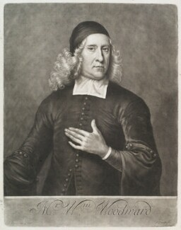William Woodward, by John Smith, after  Jeremiah Taverner - NPG D11589