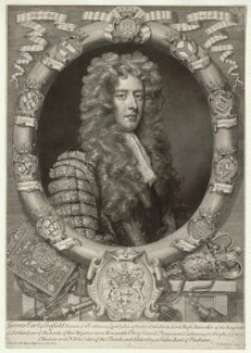James Ogilvy, 1st Earl of Seafield, by John Smith, after  Sir Godfrey Kneller, Bt, 1704 (1704) - NPG D11590 - © National Portrait Gallery, London