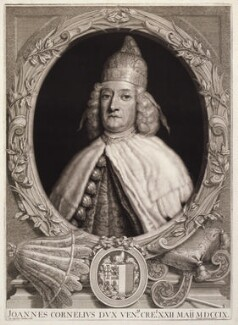 Giovanni Cornaro II, by John Smith, after  Giovanni Agostino Cassana - NPG D11591