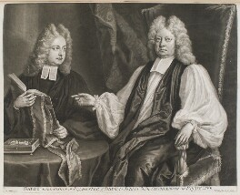 Thomas Sprat; Thomas Sprat, by and published by John Smith, after  Michael Dahl, 1712 (1712) - NPG D11592 - © National Portrait Gallery, London