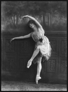 Ninette de Valois, by Bassano Ltd, 25 August 1920 - NPG x18947 - © National Portrait Gallery, London