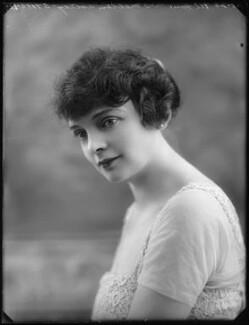 Hon. Evelyn Vere Astley (née Strover), by Bassano Ltd, 1 September 1920 - NPG x75175 - © National Portrait Gallery, London