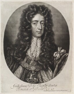 King William III, published by John Smith, after  Sir Godfrey Kneller, Bt - NPG D11944