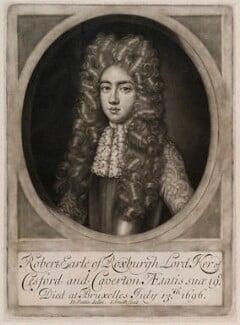 Robert Ker, 4th Earl of Roxburghe, by John Smith, after  David Paton, 1698 - NPG D11945 - © National Portrait Gallery, London