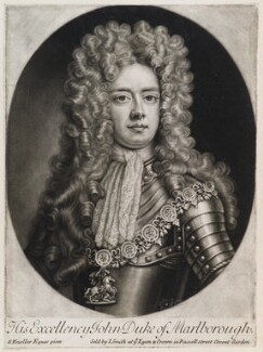 John Churchill, 1st Duke of Marlborough, published by John Smith, after  Sir Godfrey Kneller, Bt, 1705 - NPG  - © National Portrait Gallery, London