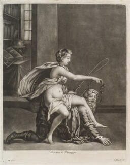 Socrates and Xantippe, published by John Smith - NPG D11946