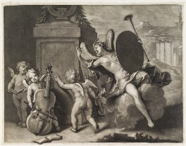 A musical dedication to the Duke of Bedford, by John Smith, after  Domenico Tempesti - NPG D11796