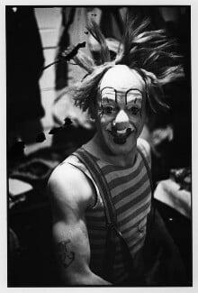 Nicolai Poliakoff (Poliakovs) ('Coco the Clown'), by Humphrey Spender, 1935 - NPG x14703 - © National Portrait Gallery, London