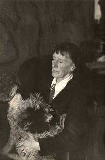 Dame Ethel Walker, by Humphrey Spender - NPG x14267