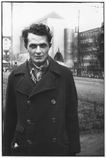 Stephen Spender, by Humphrey Spender - NPG x14702