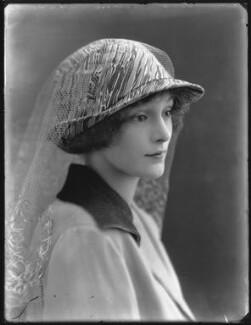 Lady Ursula Helen Abbey (née Cairns), by Bassano Ltd, 4 June 1920 - NPG x120643 - © National Portrait Gallery, London