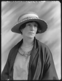 Fanny Cecil (née Wade-Gery), Lady Synge, by Bassano Ltd - NPG x75187