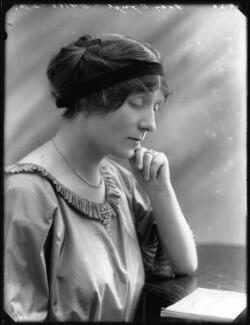 Fanny Cecil (née Wade-Gery), Lady Synge, by Bassano Ltd - NPG x75188