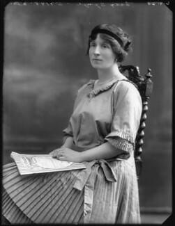 Fanny Cecil (née Wade-Gery), Lady Synge, by Bassano Ltd - NPG x75189