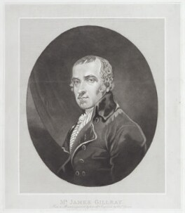 James Gillray, by Charles Turner, published by  George Humphrey, after  James Gillray - NPG D12275