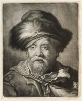 Head of a rat catcher, published by John Smith, after  Cornelis Visscher - NPG D11807
