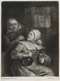 Brandy Nann, by and published by John Smith, after  Egbert van Heemskerck the Elder - NPG D11808