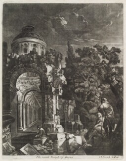 The Ruined Temple of Diana, by Robert Robinson, published by  John Smith - NPG D11810