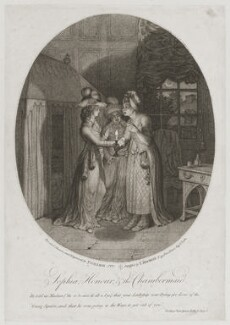 'Sophia, Honour and the Chambermaid', by James Gillray, published by  Thomas Macklin - NPG D12286