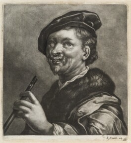 A Piper, published by John Smith, after  Dirck Jaspersz van Baburen - NPG D11819