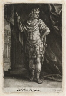 King Charles II, published by Isaac Beckett - NPG D11820