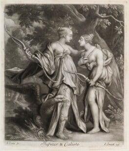Jupiter and Callisto, by Bernard Lens (II), published by  John Smith - NPG D11824