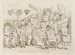 'Apothecaries - taylors, &c. conquering France and Spain', probably by James Gillray, published by  William Humphrey, published 29 September 1779 - NPG  - © National Portrait Gallery, London