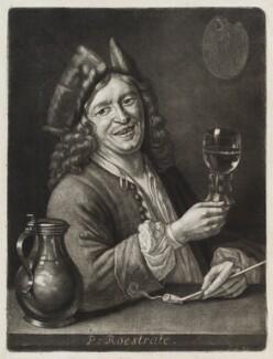 Pieter Gerritsz. van Roestraeten, published by John Smith, after  Abraham Blooteling (Bloteling) - NPG D11829