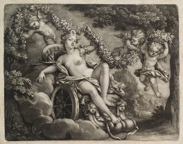 Flora, probably published by John Smith - NPG D11830