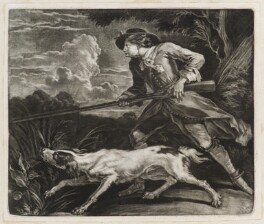 The Huntsman, by Robert Robinson, published by  John Smith - NPG D11842