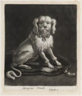 Lapdog, published by John Smith, after  Abraham Danielzsoon Hondius (de Hont or de Hond) - NPG D11843